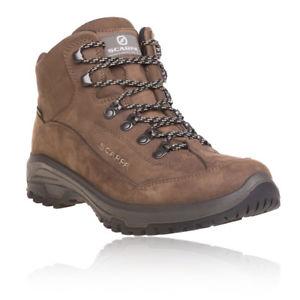 【送料無料】キャンプ用品 レディースブラウンゴアテックスキャンプハイキングブーツscarpa cyrus womens brown water resistant gore tex camping hiking boots shoes
