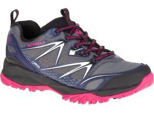 【送料無料】キャンプ用品 ボルトゴアテックスウォーキングハイキングブーツレディースwomens merrell capra bolt goretex ladies walkinghiking boots shoes