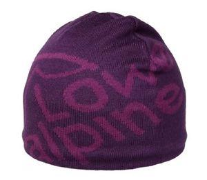 【送料無料】キャンプ用品 ロウアルパインロゴカラーオーキッドlowe alpine logo beanie hat colour orchid purple