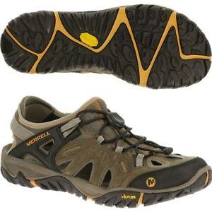 【送料無料】キャンプ用品 メンズアウトブラウンメンズウォーキングハイキングブーツmens merrell all out blaze brown mens walkinghiking boots shoes
