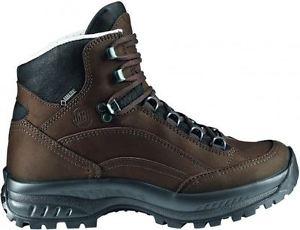 【送料無料】キャンプ用品 キャニオンワイドブーツブラウンhanwag canyon wide gtx boots brown