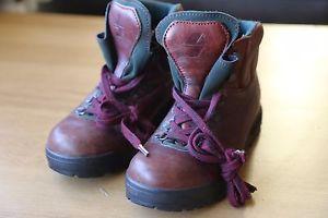 【送料無料】キャンプ用品 イタリアブラウンレザーレディースブーツレディitalian brown leather womens crispi vibram boots eu38 uk5 tuwa tiso lady bordo