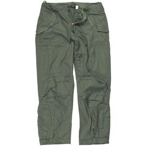 【送料無料】キャンプ用品 テックメンズパイロットポプリンパンツオリーブズボンmiltec mens pilot cargo trousers poplin cotton military pants prewashed olive