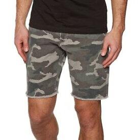【送料無料】キャンプ用品 ワークショートメンズショートウォークサイズrvca work it short mens shorts walk camo all sizes