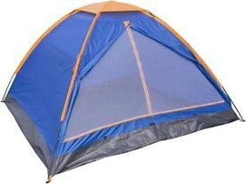 【送料無料】キャンプ用品 テントテスコ4フェスティバル tesco single layer 4 man festival camping tent blue