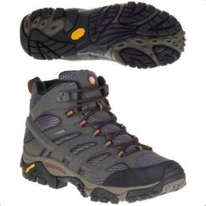 【送料無料】キャンプ用品 メンズモアブミッドゴアテックスメンズウォーキングハイキングブーツmens merrell moab 2 mid goretex mens walkinghiking boots