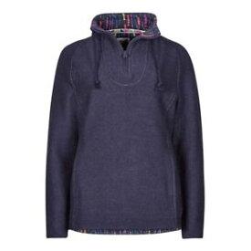 【送料無料】キャンプ用品 コンスタンティンプリントトリムマカロニスエットシャツインクweird fish womens constantine print trim 14 zip macaroni sweatshirt ink