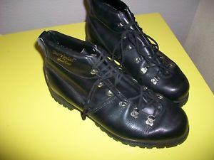 【送料無料】キャンプ用品 メンズホーキンスビンテージレザーハイキングウォーキングブーツmens hawkins vintage leather the kinder hikingwalking boots uk 8 vgc
