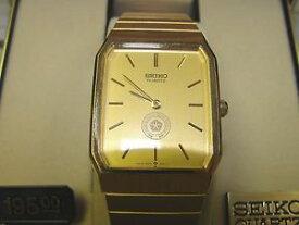【送料無料】vintage mens sieko quartz watch circa 1980 chrysler never worn cost 195