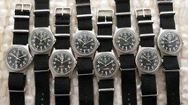 【送料無料】cwc g10 quartz military watch british royal navy 0552 issued gulf war 1990 fwo