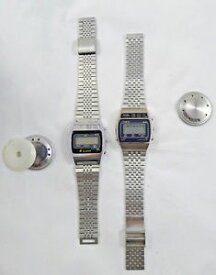 【送料無料】orologio watch quartz 1980 80 eighty men steel trevi not working
