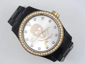 【送料無料】rare authentic vabene italy pave crystal bezel watch * working * msrp 325