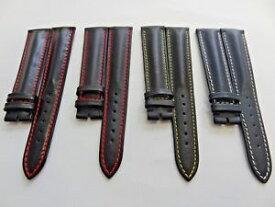 【送料無料】bracelet cuir bombe rond vintage faconnable 19mm