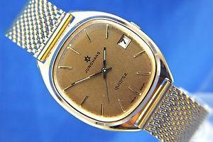 【送料無料】gents nos vintage retro junghans astro quartz watch 1970s swiss cal 66720