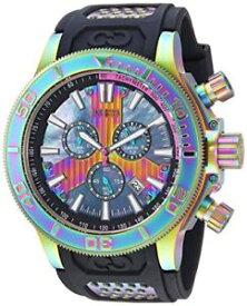 【送料無料】invicta mens corduba quartz stainless steel and polyurethane watch 25178