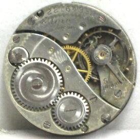【送料無料】elgin usa rarecollectable 7 jewels size 100s 1919 antique watch movement