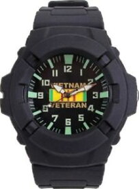 【送料無料】aquaforce wrist watch vietnam veteran military water resistant 5377