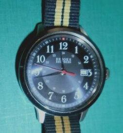 【送料無料】mens brooks brothers 346 quartz wristwatch