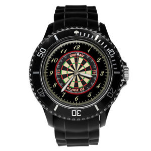 【送料無料】darts dartboard mens gents mens wrist watch engraving birthday gift