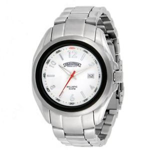 【送料無料】field amp; stream mens f187gwbs ballistic armortech stainless steel bracelet watch