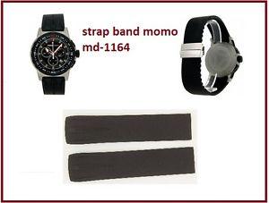 【送料無料】cinturinostrap momo design md116401bkbkrb pilot pro chrono