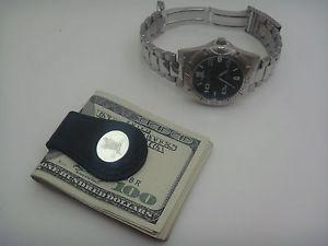 【送料無料】 field amp; stream wristwatch money clip gift wooden box set msrp 3999