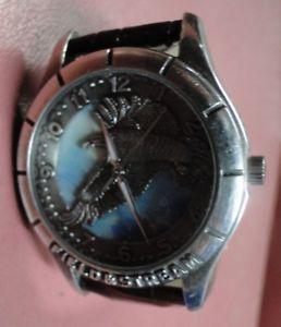 【送料無料】field and stream collectors medal watch eagle in sky wrist watch mens nice *
