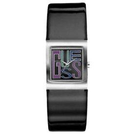 【送料無料】orologio donna guess mini graphix w65005l1 pelle nero lucido quadrato originale