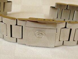 【送料無料】cinturino originale watch uhr steel maserati acciaio lucido misura 14 mm altm53
