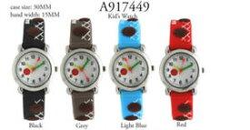 【送料無料】 kids basket ball tachymeter round wrist watch 30mm