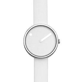 【送料無料】rosendahl picto white steel watch small 43363