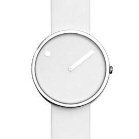 【送料無料】rosendahl picto white steel watch medium 43364