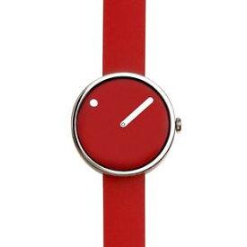 【送料無料】rosendahl picto red steel watch small 43366