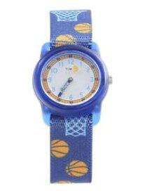 【送料無料】timex boys tw7c16800 time machines blue basketball analog watch
