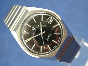 【送料無料】gents nos vintage junghans astro quartz watch 1970s swiss cal 66720