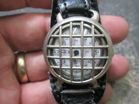 【送料無料】wwi with crystal protector vintage longines triple signe us military wrist watch
