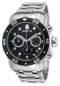 【送料無料】invicta mens pro diver chronograph quartz 200m stainless steel watch 21920