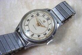 【送料無料】an ingersoll triumph manual wind wristwatch c early 1950s