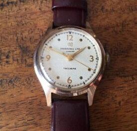 【送料無料】ingersoll triumph london watch 1955