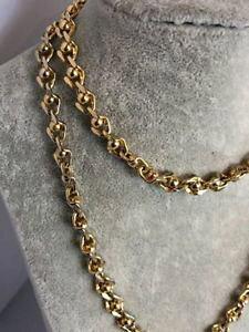 【送料無料】ネックレス モネヴィンテージチェーンmonet vintage chaine dore 42 sm circa 1950