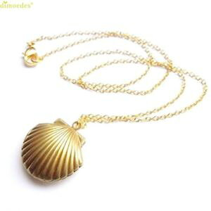 【送料無料】ネックレス シーシェルネックレスシェルメダリオンペンダントas fr20602 coquillage pendentif medaillon en laiton dor sea shell colliers