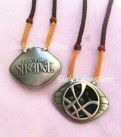 【送料無料】ネックレス コスプレフィルムcollana occhio agamotto doctor strange comics fumetti cosplay film movie marvel
