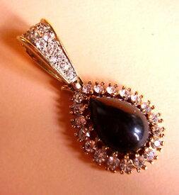 【送料無料】ネックレス バレンティーノブラックペンダント523 valentino pendentif noir