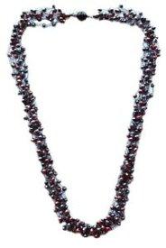 【送料無料】ネックレス ドルマンミックスアートdolman bijoux collana lunga modello uncinetto mix colore lampone art460588h