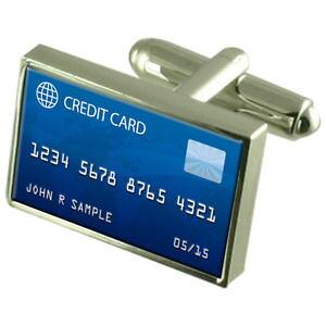 【送料無料】メンズアクセサリ? カードカフスボタンクリスタルタイクリップバーボックスcredt card cufflinks crystal tie clip bar box set engraved