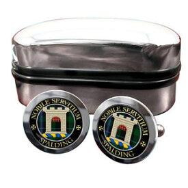 【送料無料】メンズアクセサリ— スポルディングスコットランドカフリンクスボックスspalding scottish clan crest cufflinks amp; box