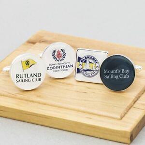 【送料無料】メンズアクセサリ? ヨットクラブカフリンクスパーソナライズsailing club cufflinks personalised