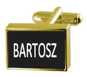 【送料無料】メンズアクセサリ? カフリンクスマネークリップengraved money clip with cufflinks name bartosz