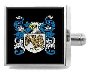 【送料無料】メンズアクセサリ? イギリスカフスボタンボックスwolfedon england heraldry crest sterling silver cufflinks engraved box