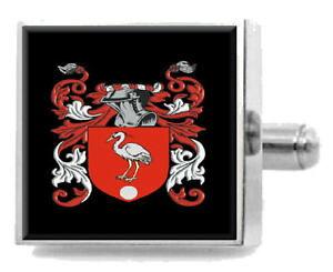 【送料無料】メンズアクセサリ? イギリスカフスボタンボックスmargerison england heraldry crest sterling silver cufflinks engraved box